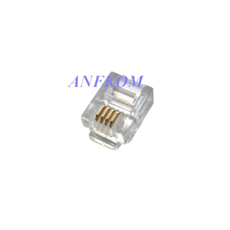 Cat3 UTP 4P4C Plug