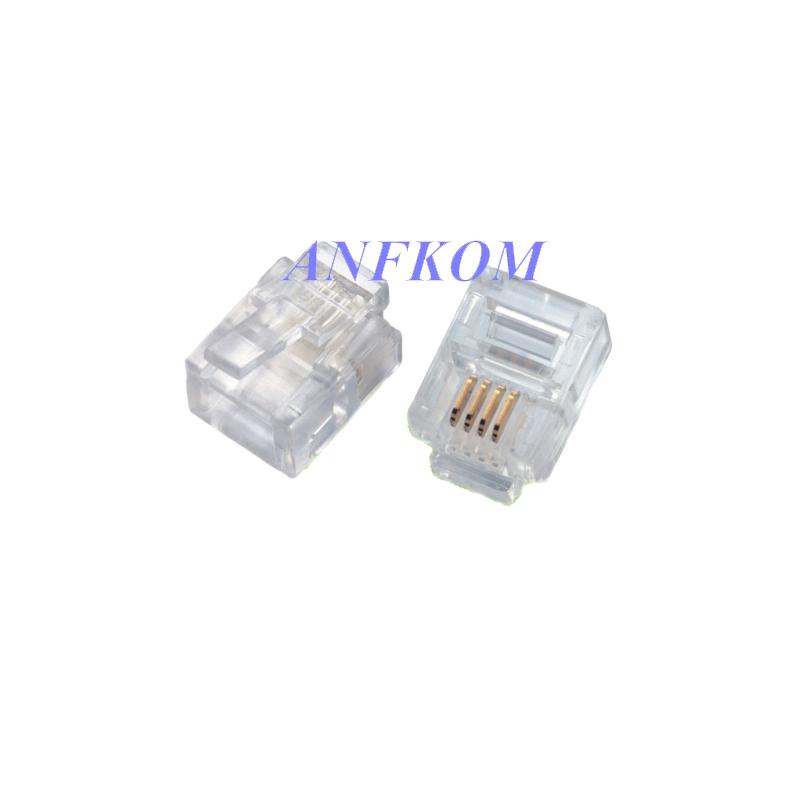 Cat3 UTP 6P4C Plug