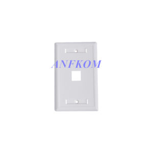 Faceplate 120 type 1 Port