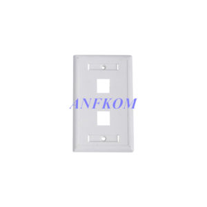 Faceplate 120 type 2 Port