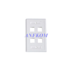 Faceplate 120 type 4 Port