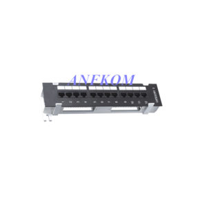 Cat5e UTP Patch Panel 12 Port Wall-Mounted LSA IDC