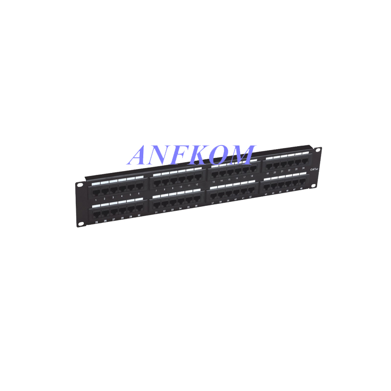Cat5e UTP Patch Panel 48 Port 110/LSA IDC