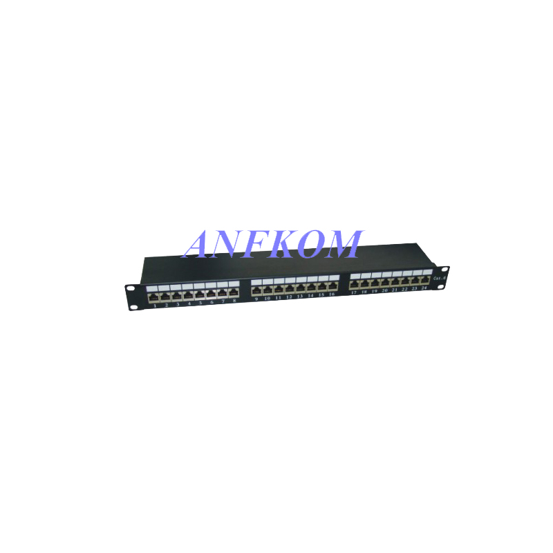 Cat6 FTP Patch Panel 24 Port LSA IDC