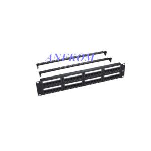 Cat6 UTP Patch Panel 48 Port LSA&110 Dual Use IDC